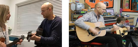 Guitar Tuition and Lessons - Music Teacher Leamington